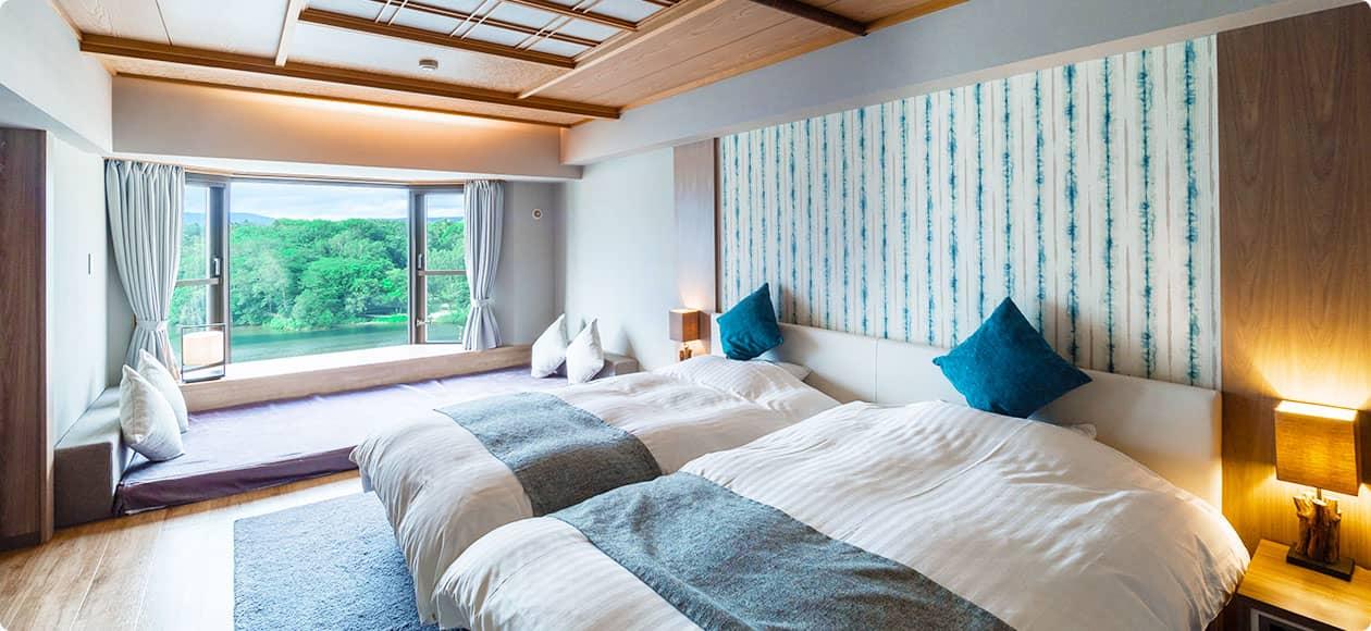 香格里拉馆 度假村双床房