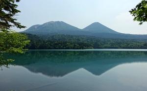 オンネトーの森と湖