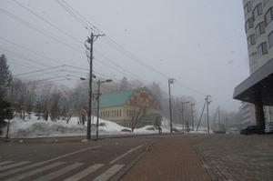 冬恋しの温泉街