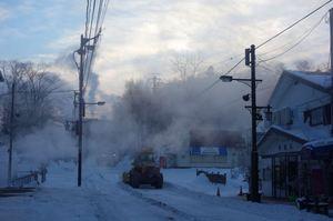 これが氷点下27.5℃の朝
