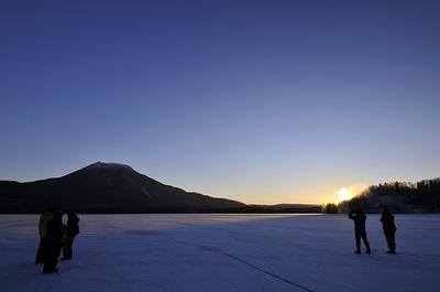 阿寒湖でご来光を見よう!