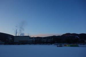 連続氷点下21℃の朝