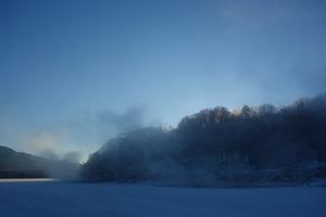 氷点下21℃の朝