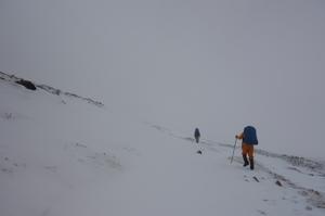 初雪の大雪山縦走・後編