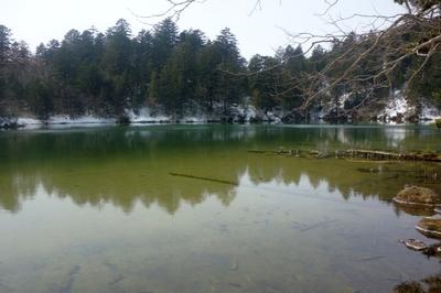 太郎湖と次郎湖へ