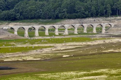 幻の橋 タウシュンベツ橋梁