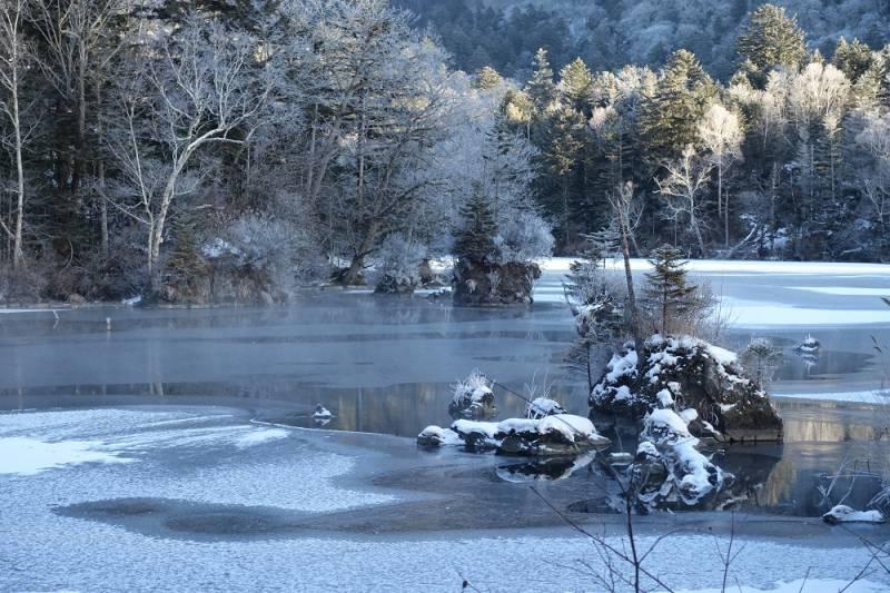 冬もおすすめ滝見橋