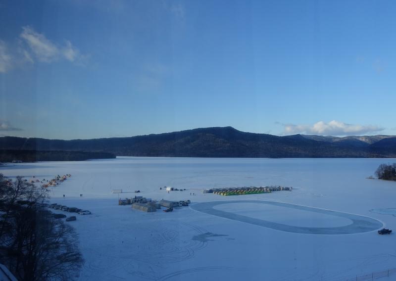 1月4日氷上ワカサギ釣りスタート