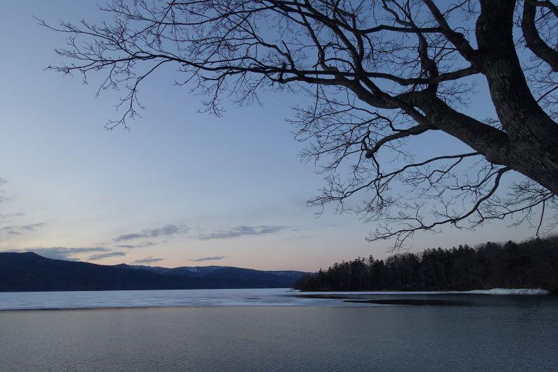 4月阿寒湖