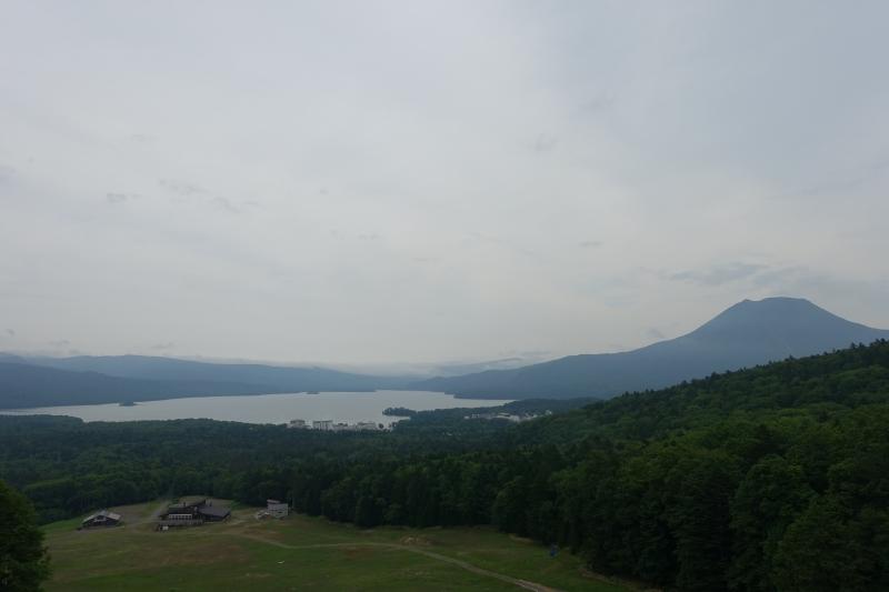 身近な俯瞰スポット阿寒湖展望台